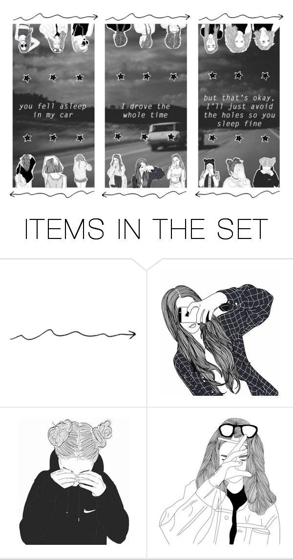 """""""-but that's okay i'll just avoid the holes so you sleep fine-"""" by marlizfrick ❤ liked on Polyvore featuring art and mariansnovvibes"""