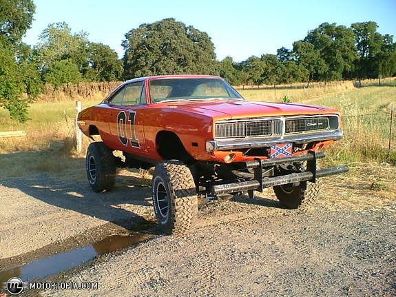 Photo of a 1969 Dodge Charger R/T (general 4x4) | cars | Pinterest