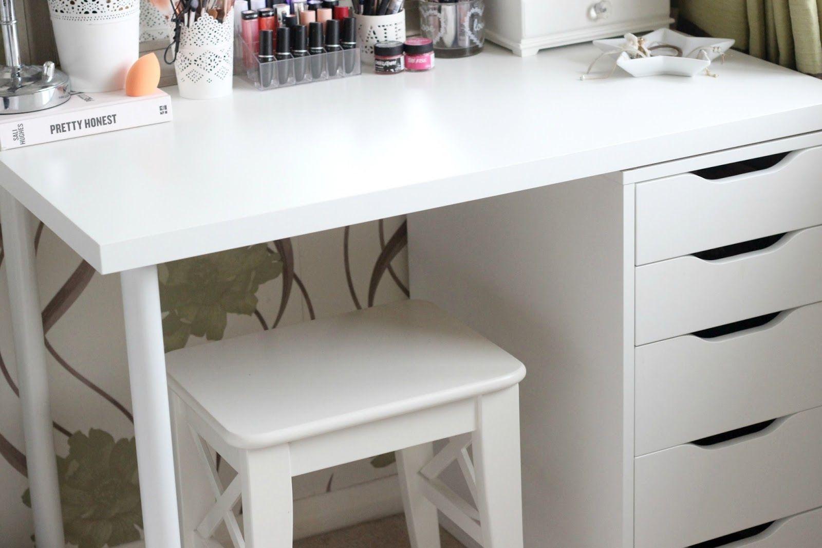 DIY Ikea Vanity u0026 Makeup Storage