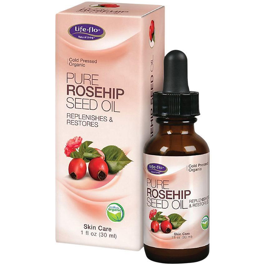 Pure Rosehip Seed Oil 1 Fluid Ounces Oil By Life Flo Health Care At The Vitamin Shoppe In 2020 Rosehip Seed Oil Organic Seeds Organic Rosehip Seed Oil