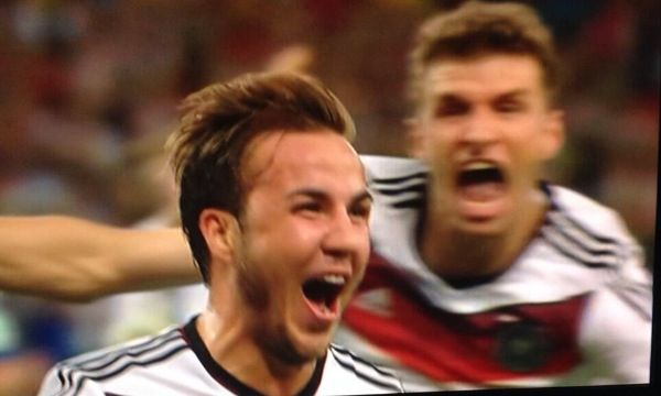 #Gotze !!!!!! #WorldCup2014 #Winners