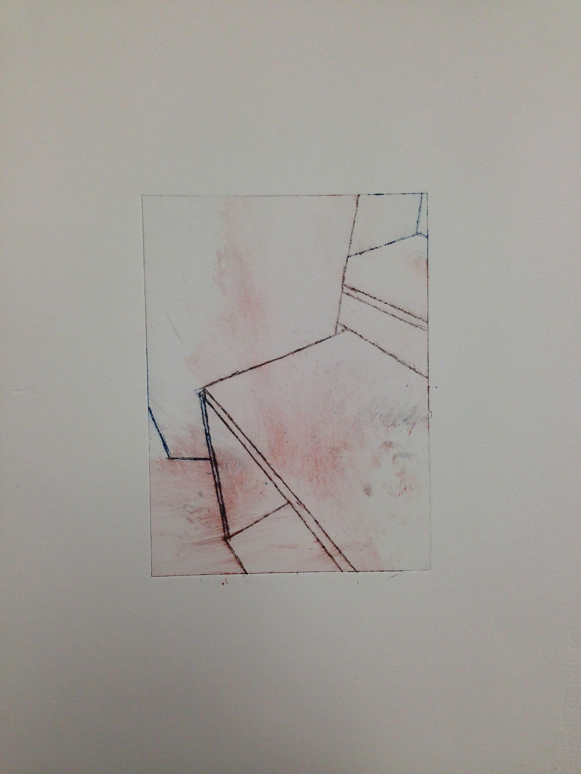 Colour dry point