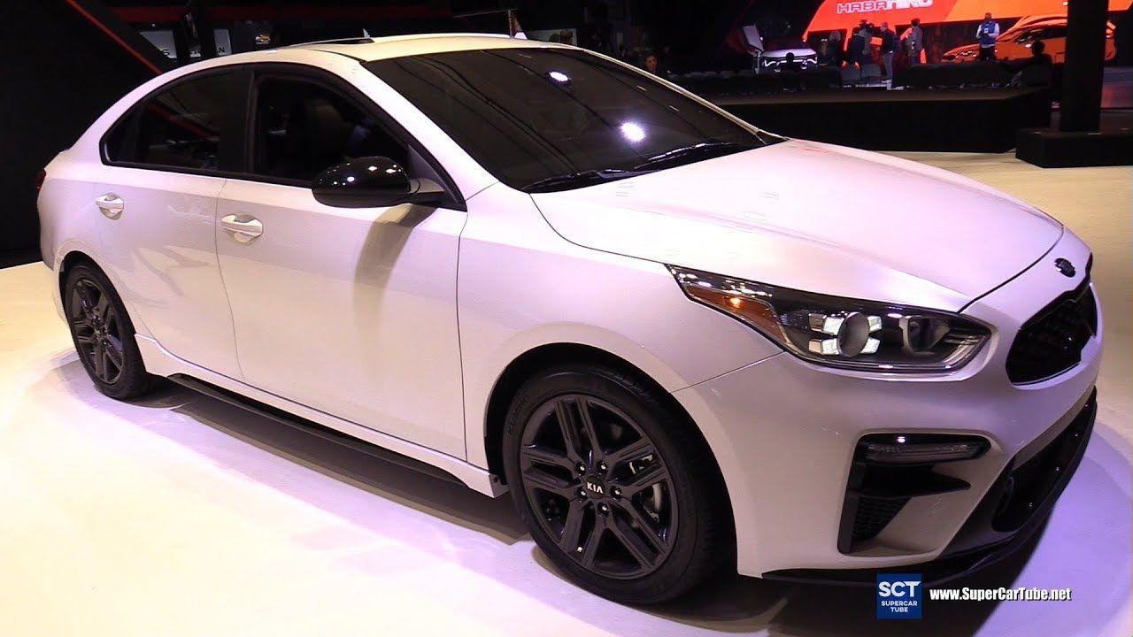 2020 Kia Forte Gt Line Exterior And Interior Walkaround 2019 New Yor Kia Forte Kia Best New Cars