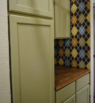 An Easy & Inexpensive Way To Update Flush (Flat Panel) Interior Doors With Molding - Diy wood countertops, Wood countertops, Refinishing hardwood floors, Countertops, Wood diy, Plywood countertop - Updated Flat Panel Doors