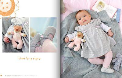 Con El Bebe A Cuestas Catalogo Prenatal Otono Invierno De Ropa Recien Nacido Con El Bebe A Cuestas Baby Fashion Baby Girl Bebe