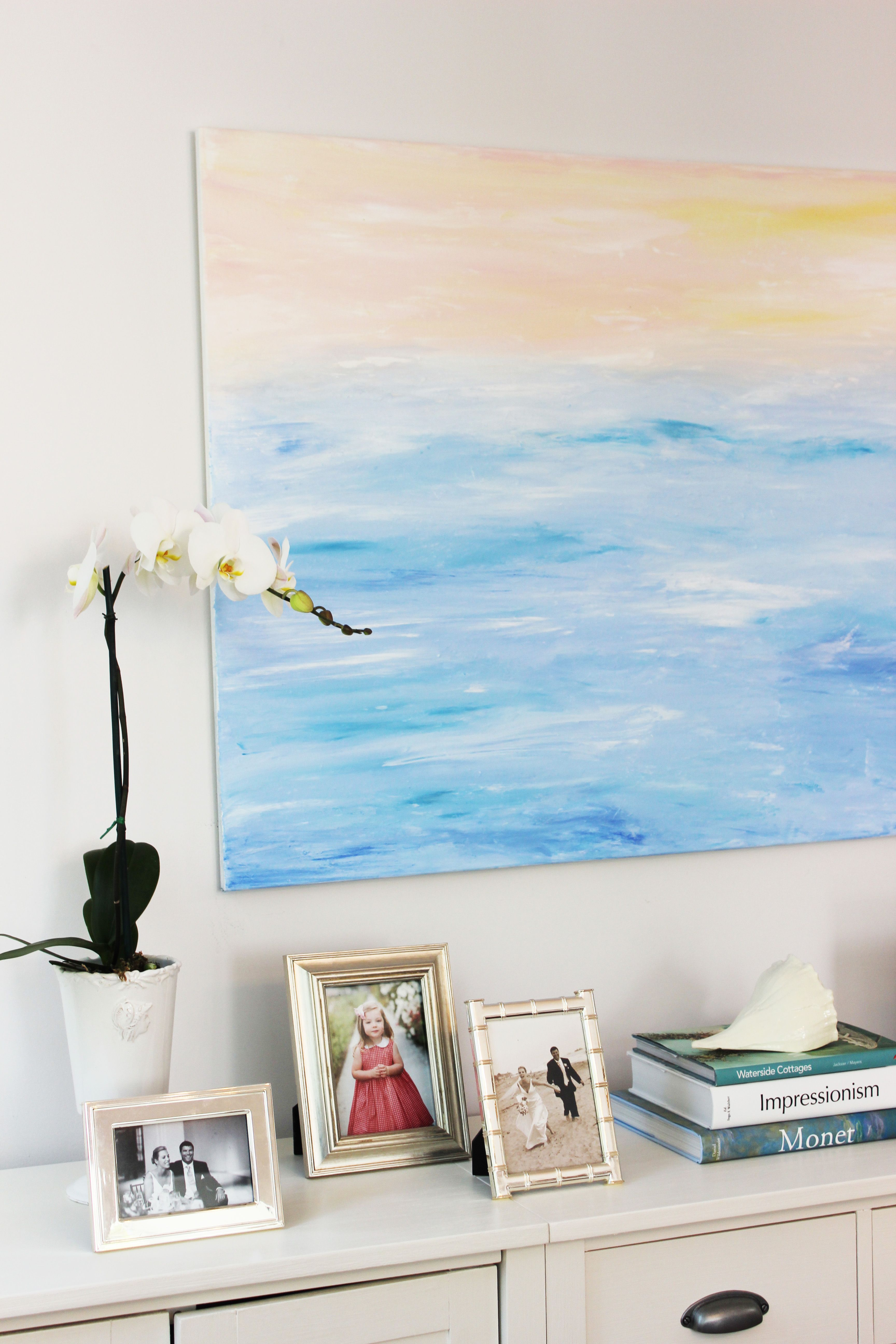 How To Make Your Own Abstract Art. A Simple Method For Creating DIY Big Wall