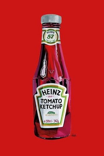 heinz label template - heinz poster ketchup bottle 24x36 logo tomato 57