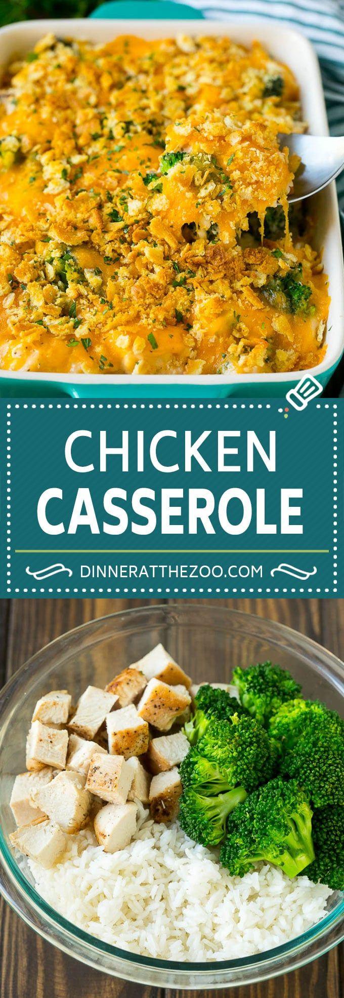 Chicken Casserole Recipe | Chicken and Rice Casserole | Chicken and Broccoli Casserole