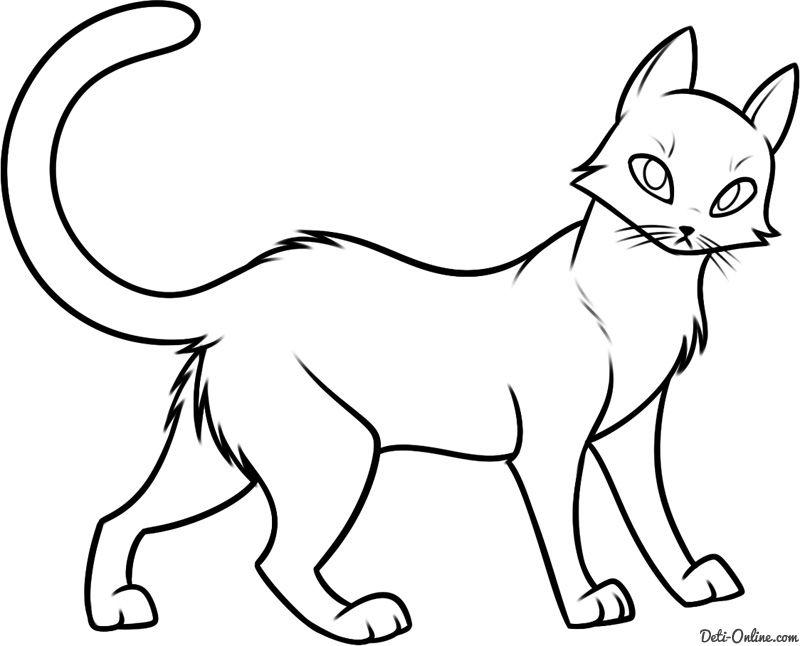 Картинки кошек для срисовки, октябрьской революции
