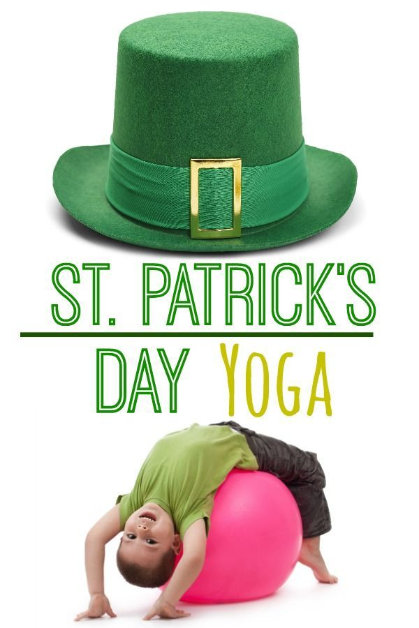St. Patrick's Day Kids Yoga   Yoga for kids, Kids yoga poses, Exercise for  kids