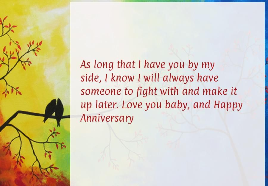 Happy First Anniversary Quotes Anniversary Wishes Pinterest