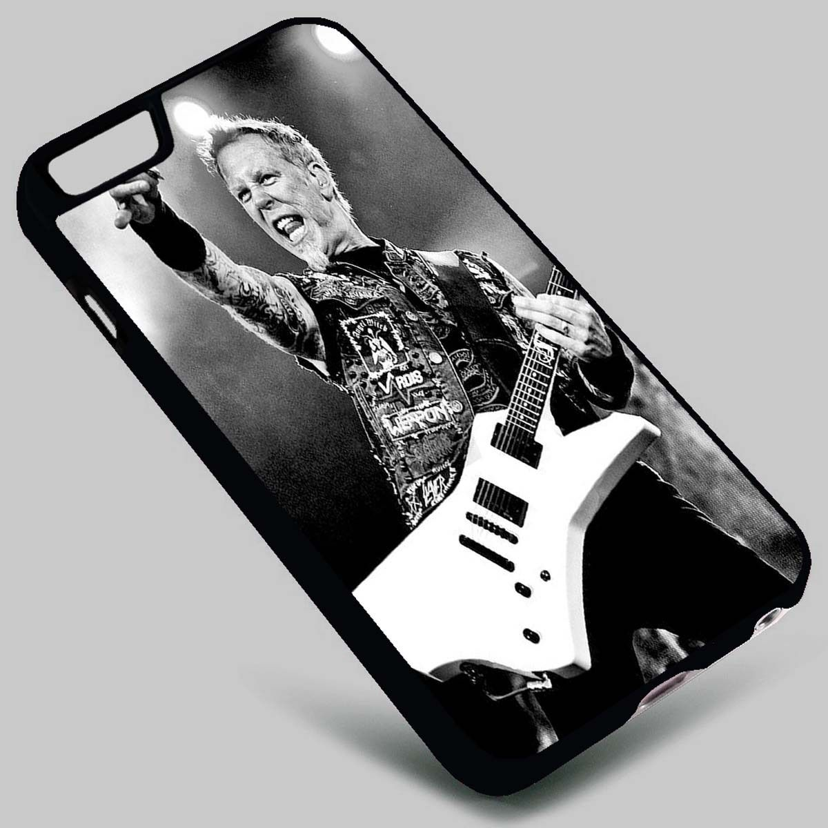James Hetfield Metallica Iphone 4 4s 5 5s 5c 6 6plus 7