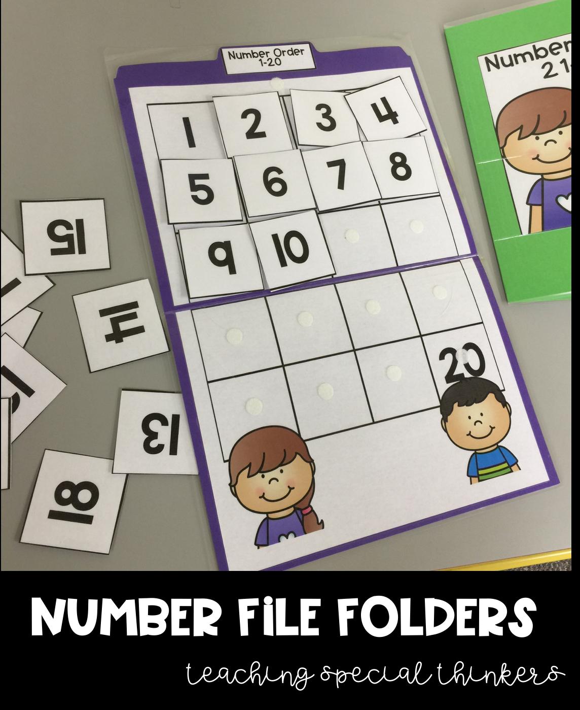 Math File Folders Mega Bundle