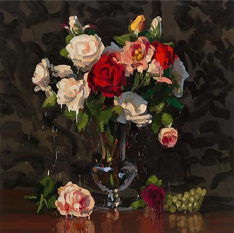 jan de vliegher artist | Bouquet 12014oil on canvas200 x 150 cm