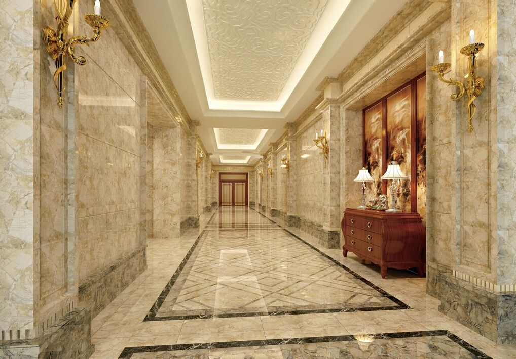 Hotel corridor suspended ceiling 1018 710 for Hotel ceiling design