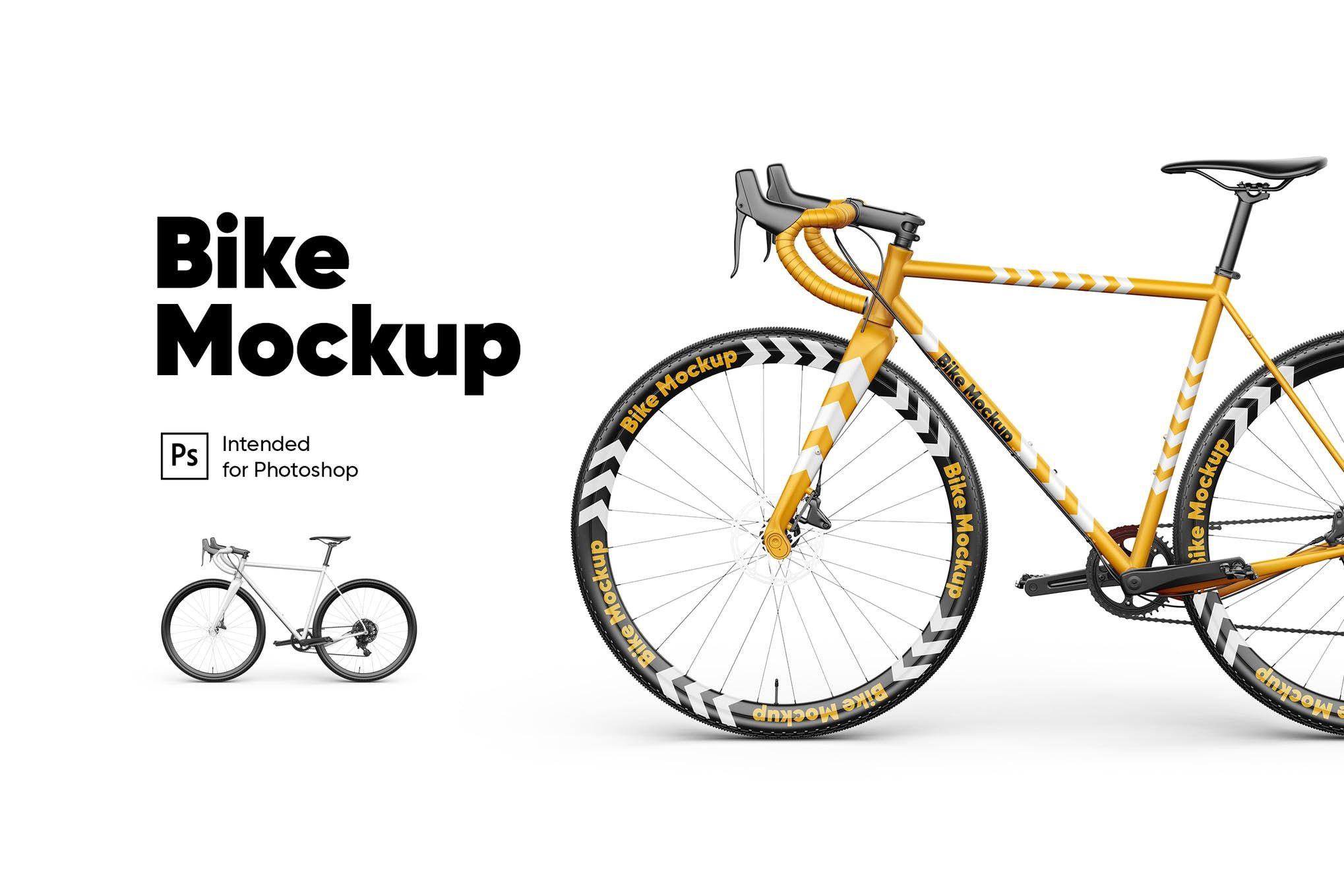 Download Bike Mockup Psd Mockup Mockup Design Envato