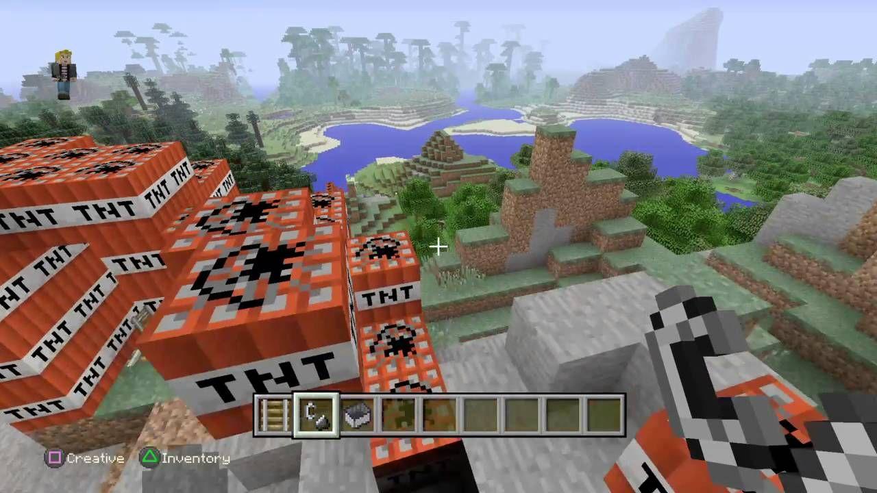 Minecraft: TNT ROLLERCOASTER FAIL