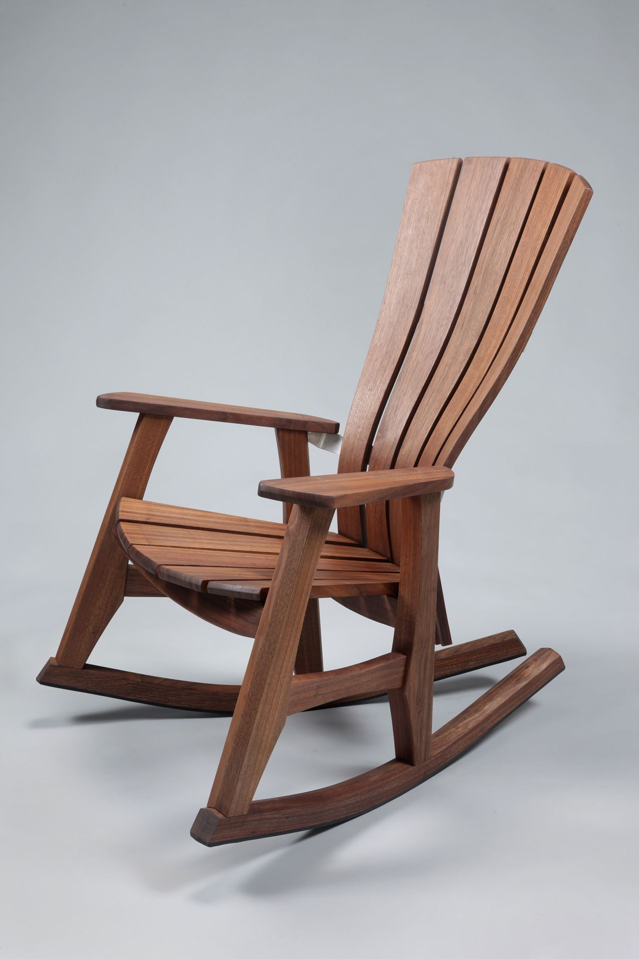 Wooden Rocking Chair: Reminiscent Of The Past In The Modern Living   Home  Furniture Design