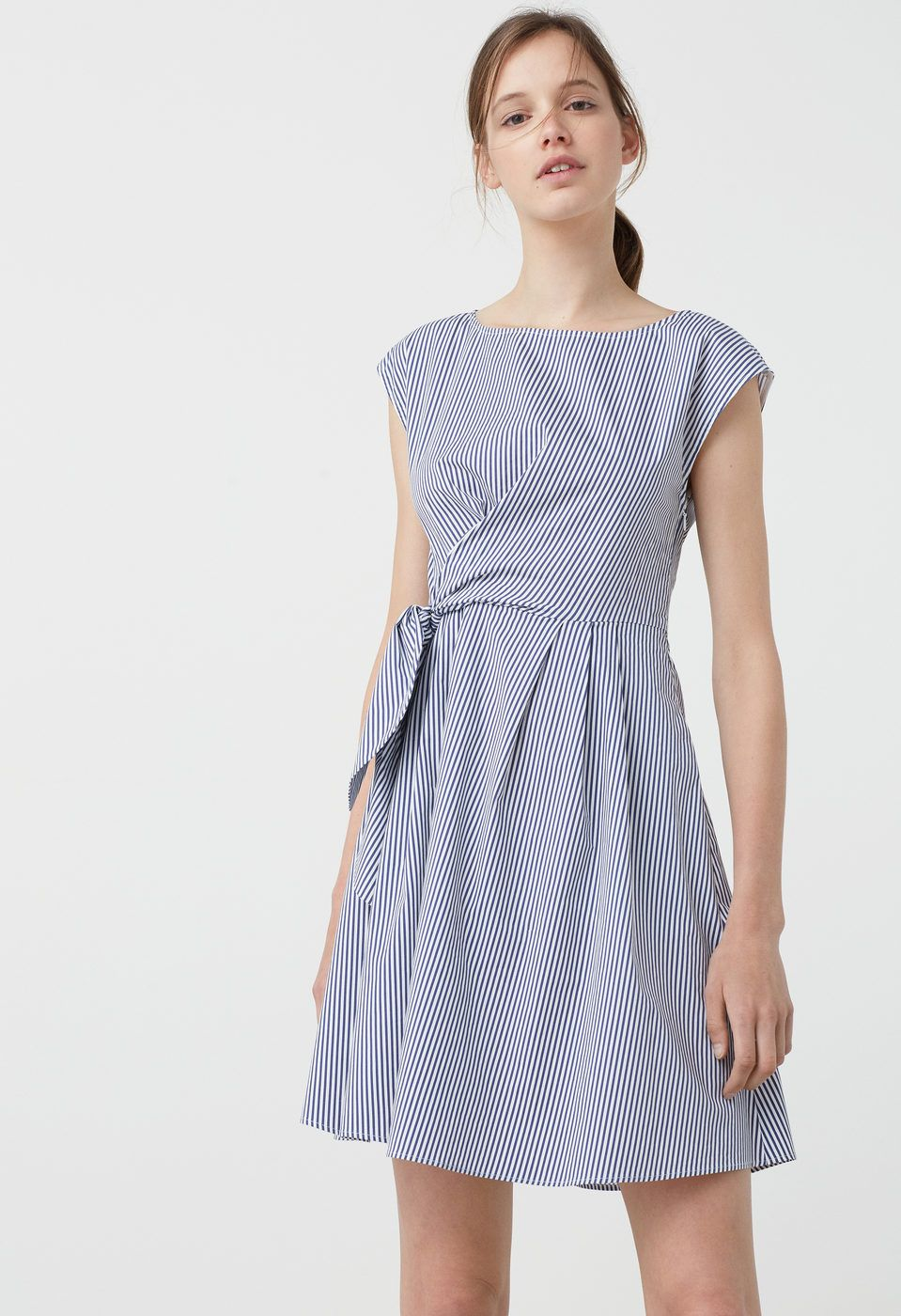 4830d6148 Vestido popelín - Mujer