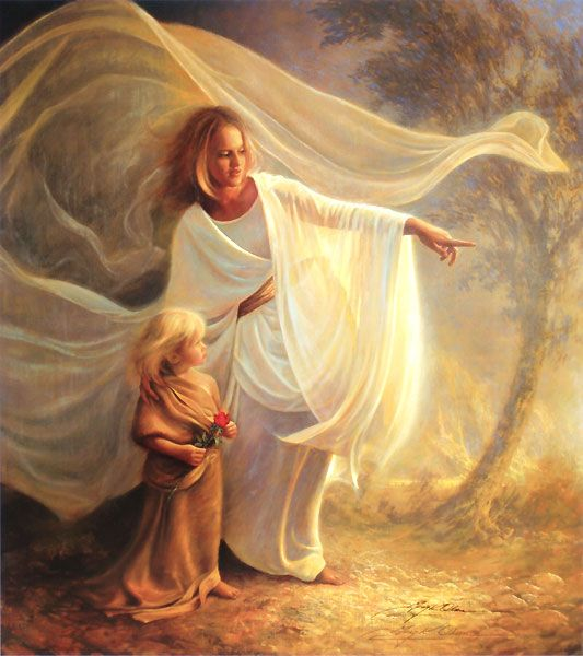 Image result for heavenly mother greg olsen