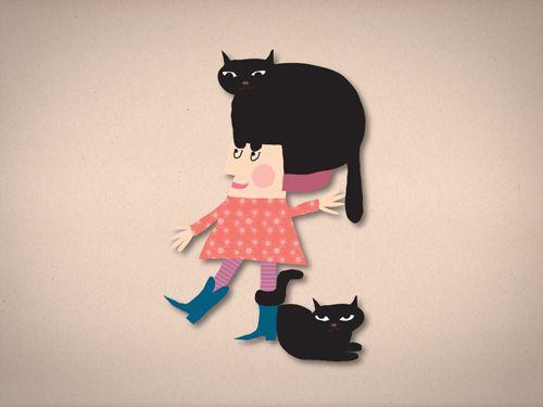 Illustratie App Count the Animals | Caroline Ellerbeck