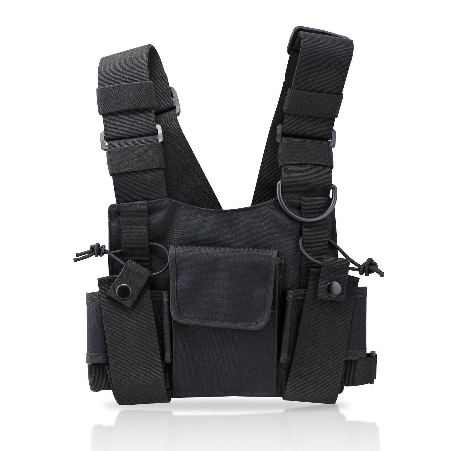 2019 New Hip-hop Kanye West Street Ins Hot Style Chest Rig Military Tactical Chest Bag Functional Package Prechest Bag Vest Bag Men's Bags