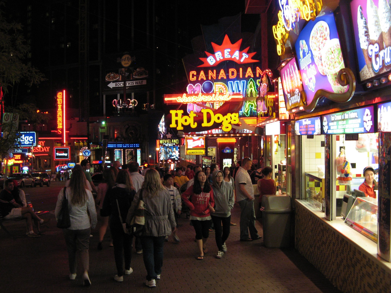 Niagara Nightlife Niagara Falls Night Life How To