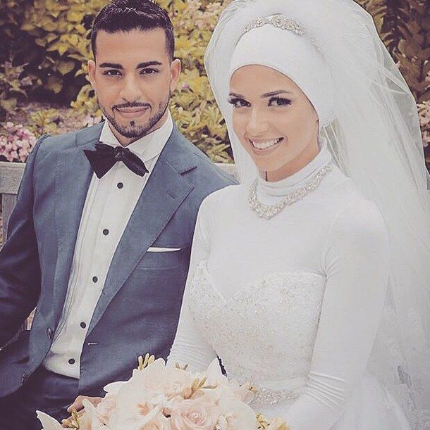 Marry a white muslim dresses