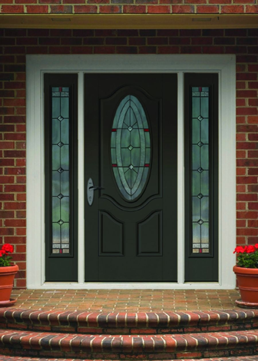 Therma Tru Doors Smooth Star Arden Glass Options
