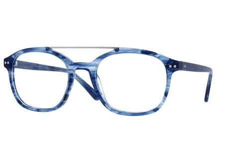 ad845d6c93 Zenni Aviator Prescription Eyeglasses Blue Plastic 4424316
