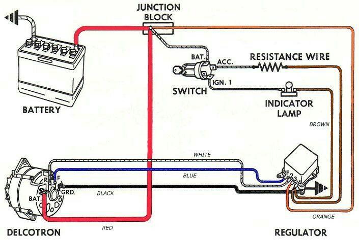 [SCHEMATICS_4FR]  Pin by James Andrade on Car Electresity | Car alternator, Alternator,  Automotive electrical | Chevy 250 Voltage Regulator Wire Diagram |  | Pinterest