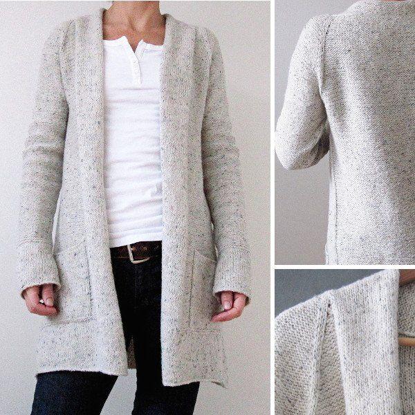 Snowbird Cardigan Kit | Crochet & Knit | Pinterest