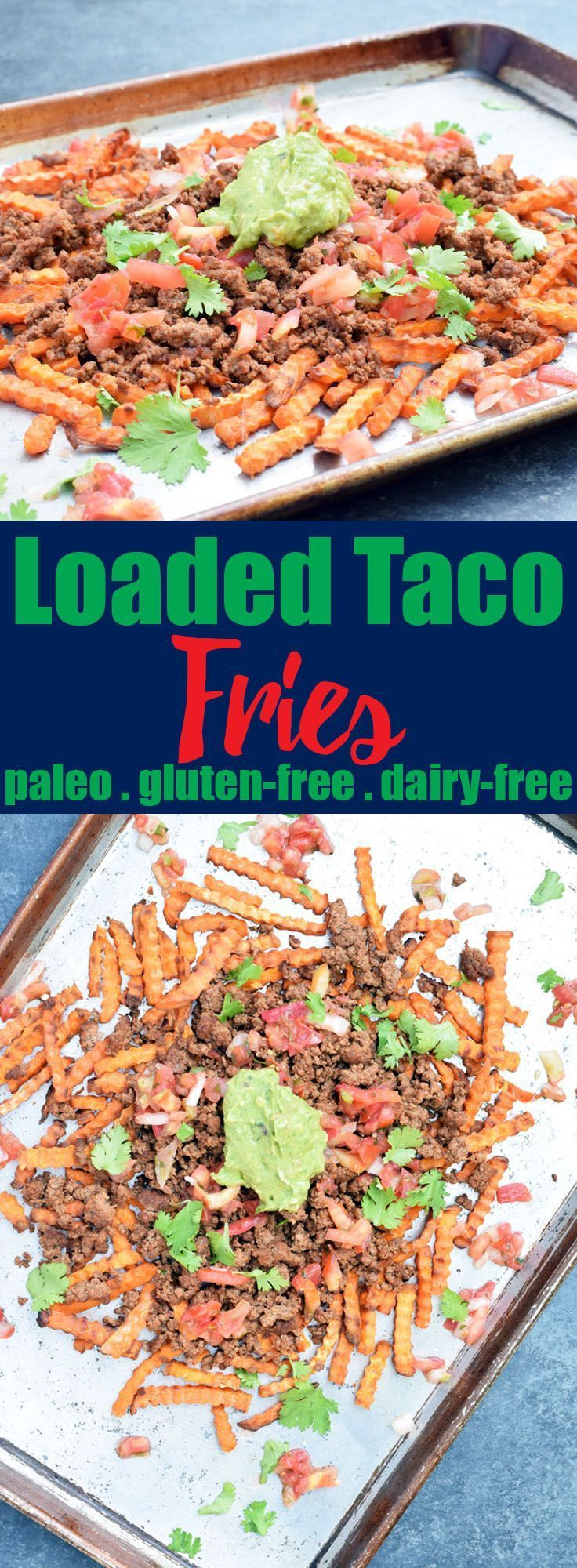 Food wine conference recap loaded taco fries paleo
