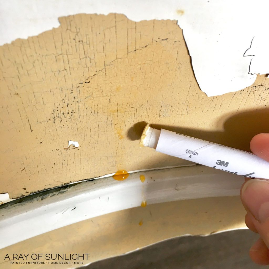 The Easiest Way To Remove Paint From Your Old Wood Furniture Paint Remover Wood Furniture Stripping Paint