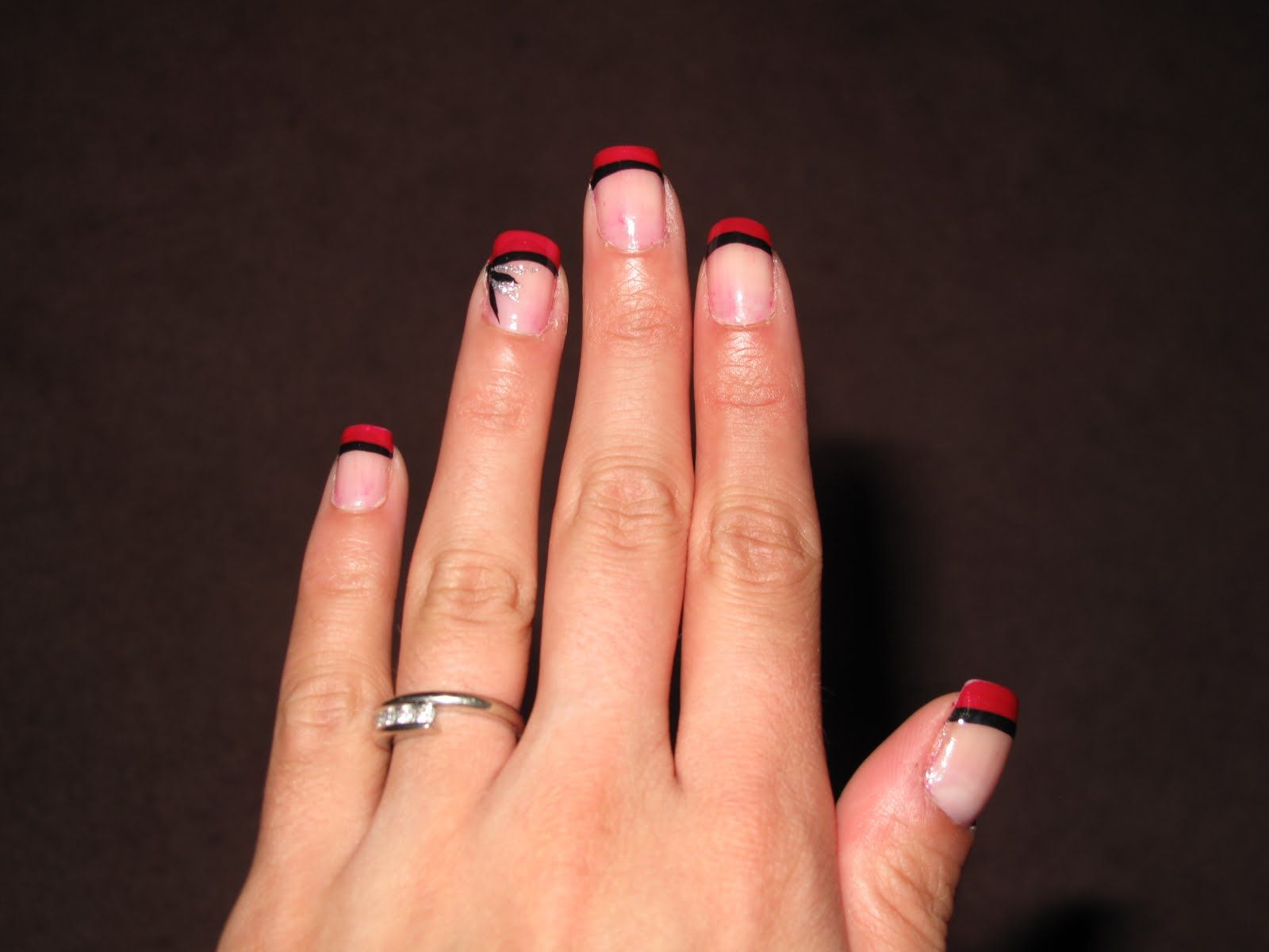 Nail Designs August 2010 French Tip Nail Designs French Tip Nails French Nails