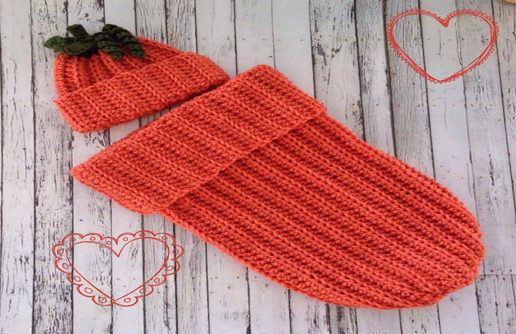 Easy Pumpkin Baby Cocoon Youtube Crochet Baby Cocoon