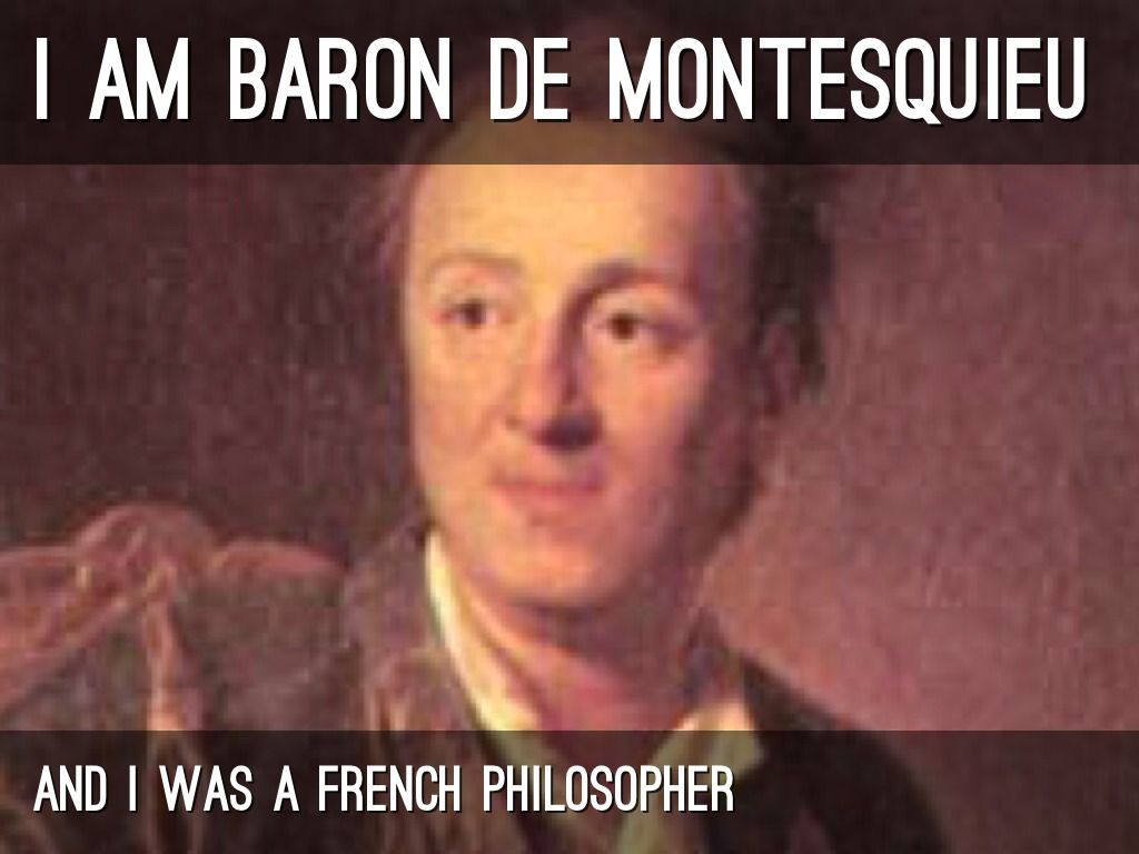Did the Montesquieu influence james madsion? what types of things do they have in common?