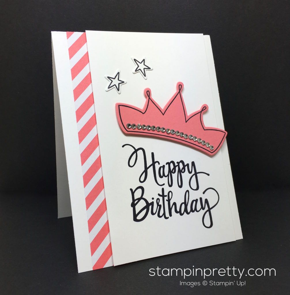 Stylized Birthday Meets Wish Big Framelits Dies Simple Handcrafted Card Idea Tips Daily Order Stampin Up On Line 24 7