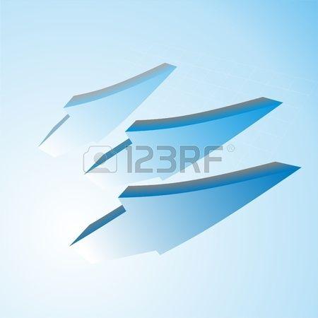3d arrows in