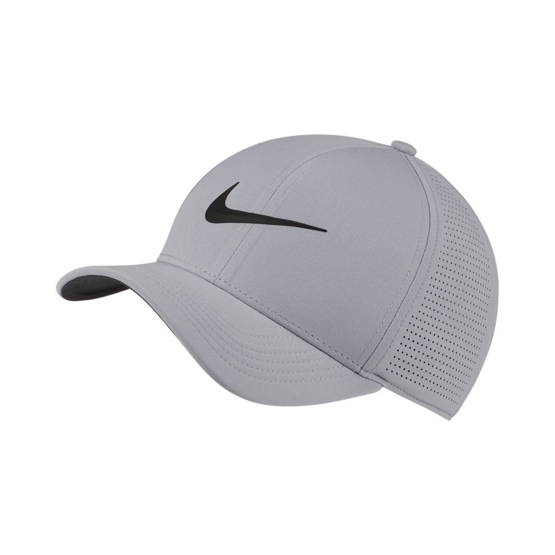 810362dd8aacd Nike AeroBill Classic 99 Fitted Golf Hat Size XS/S (Wolf Grey ...