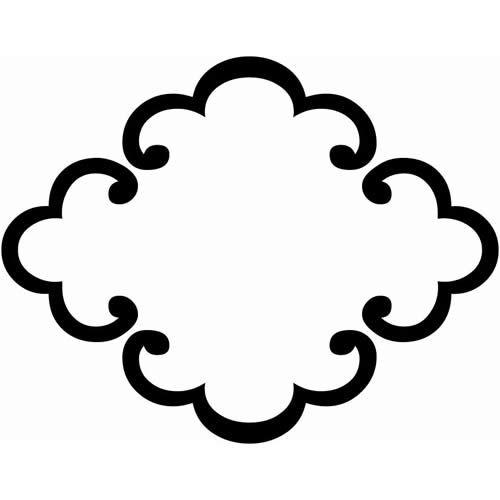 唐鐶木瓜 からかんもっこう 家紋 木瓜 家紋 デザイン