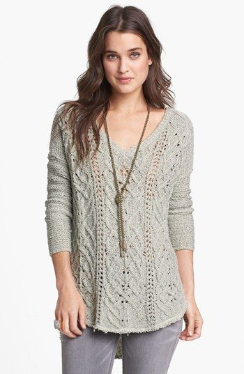 5dd0595778853 Free People  Cross My Heart  High Low Sweater (Save Now through 12 9 ...
