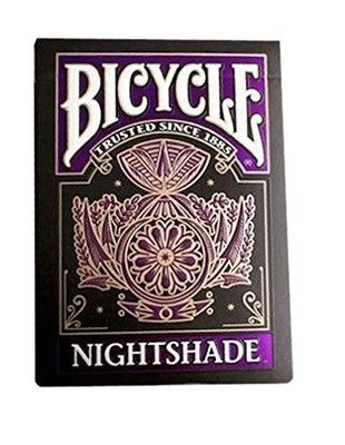 Karty Bicycle Nightshade Club 808 Uspc Limit 6647913009 Oficjalne Archiwum Allegro Cards Playing Card Deck Unique Playing Cards