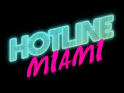 Hotline Miami Logo Miami Logo Hotline Miami Logo Design