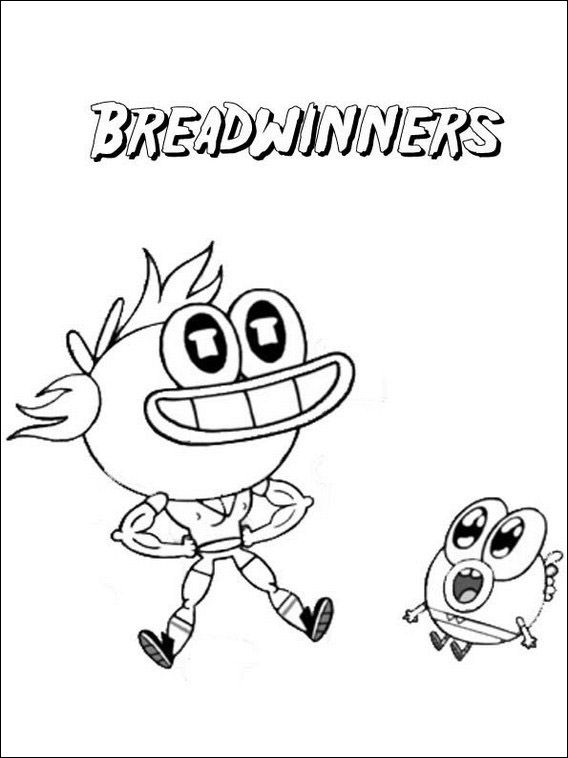 Breadwinners Coloring Pages 5