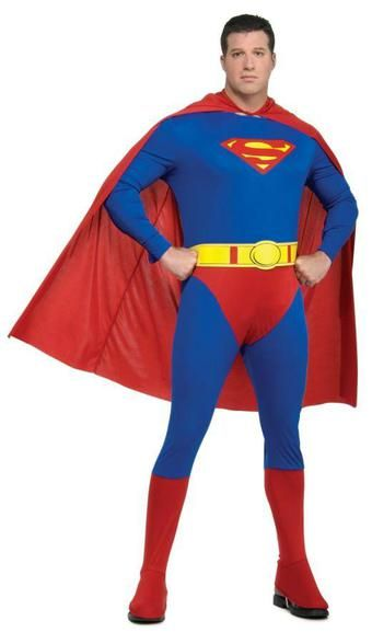 Muscle Superman da Uomo Costume DAWN OF JUSTICE Film Supereroe Costume Adulti