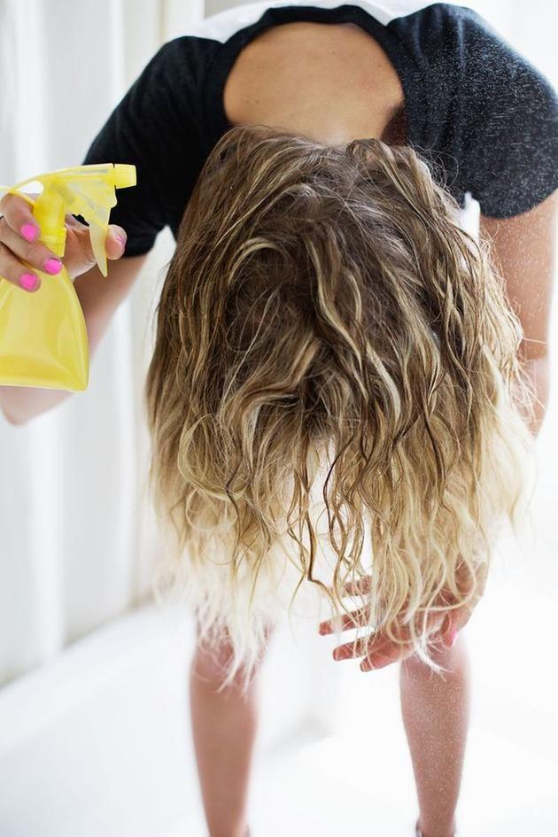 huile de coco cheveux secs