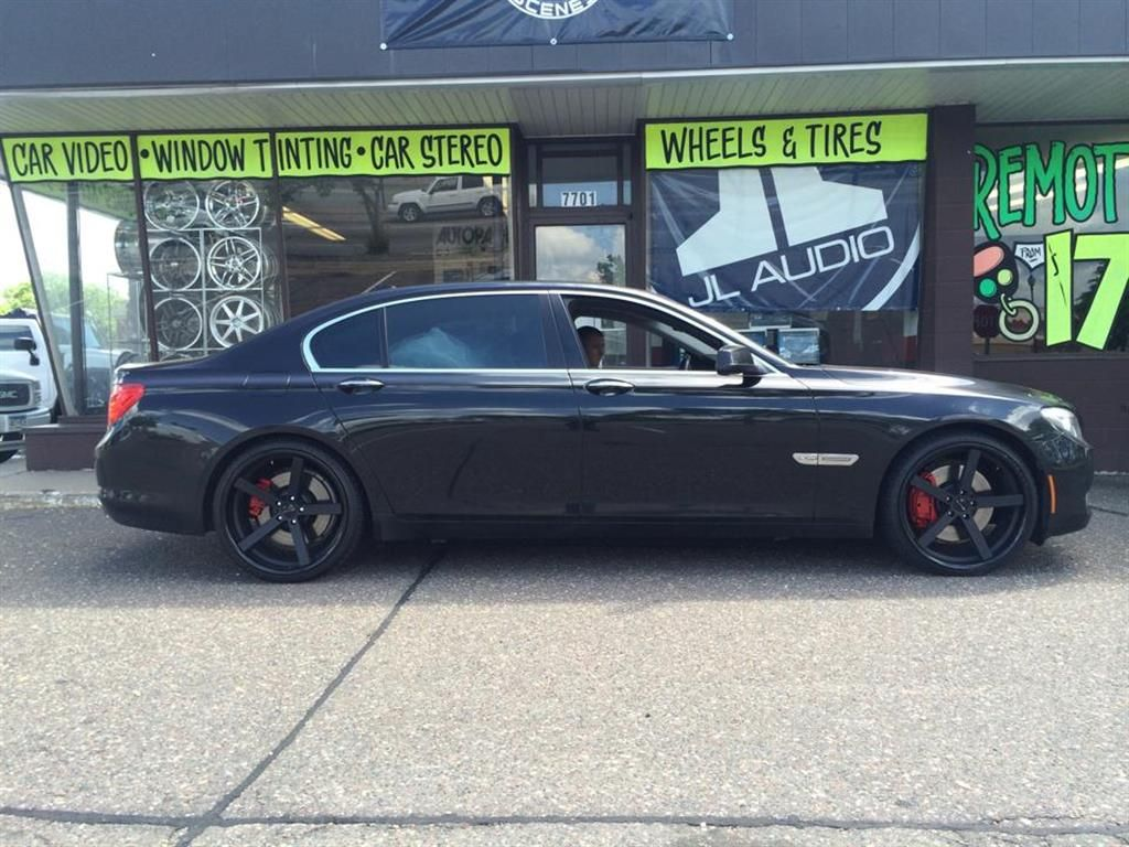 BMW 745i by Street Scenes Tint in Minneapolis MN . Click