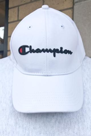 1c13f2da02045 Champion Life Twill Hat White Champion Shoes