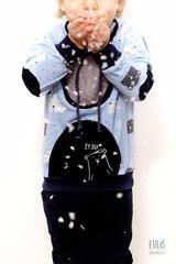 """Themenwoche - Cool Boys - Stoffe, eBooks & Schnitte für coole Jungs, nähen für Kinder, Jersey Dino Stars und kleine Freunde -  Hoodie/Pulli - Kyron MoiraLita, Schlupfmütze/Mütze Mio von Annas Country - Hose & Shirt Filou und Phinochino von FeeFee und """"Lot"""